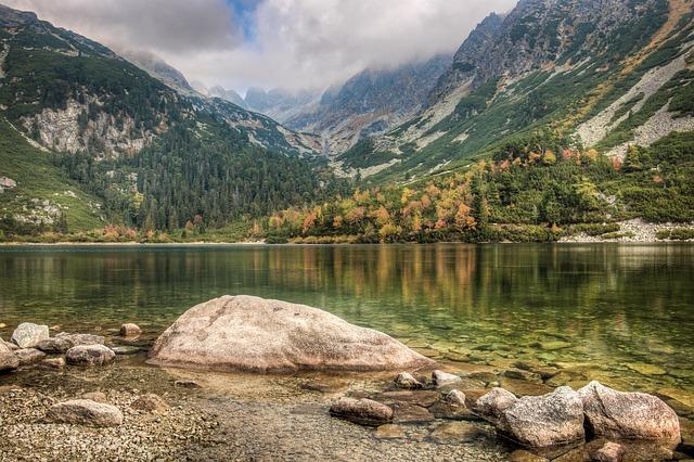 bergsee vysoké tatry