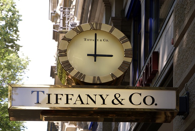 obchod u Tiffanyho