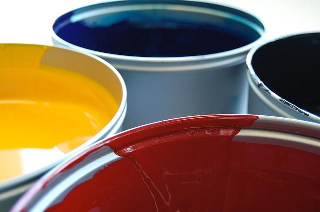 tiskárenské barvy