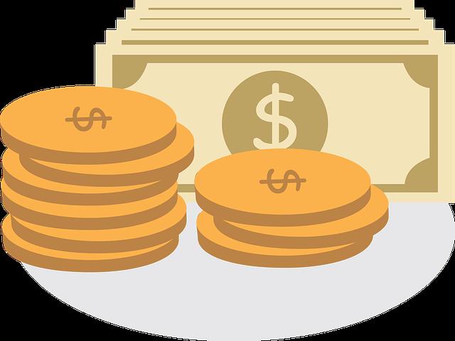 animované peníze