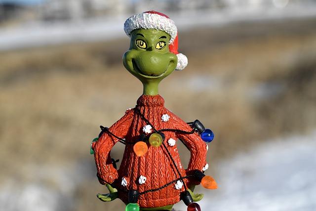 vánoční Grinch